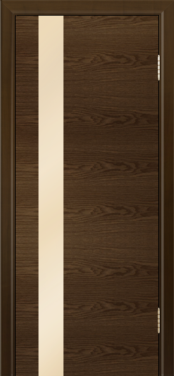 Двери Лайндор Камелия К5 тон 35 стекло Светло-бежевое