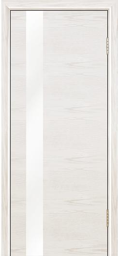 Двери Лайндор Камелия К5 тон 38 стекло Белое