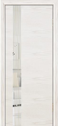 Двери Лайндор Камелия К5 тон 38 стекло Водопад