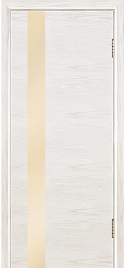 Двери Лайндор Камелия К5 тон 38 стекло Светло-бежевое