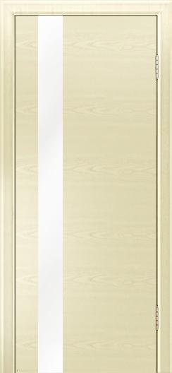 Двери Лайндор Камелия К5 тон 42 стекло Белое