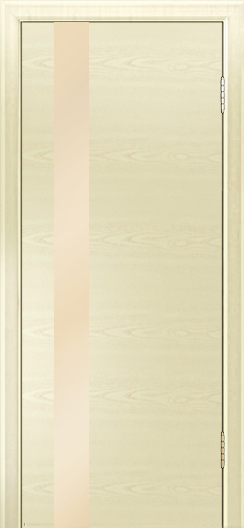 Двери Лайндор Камелия К5 тон 42 стекло Светло-бежевое