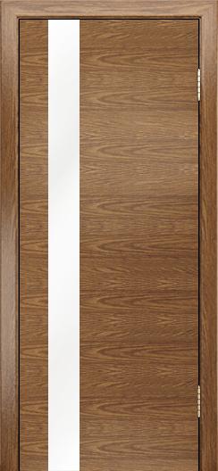 Двери Лайндор Камелия К5 тон 45 стекло Белое