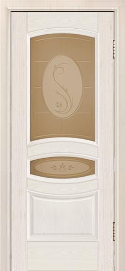 Дверь Лайндор Алина М тон 27 стекло Алина бронза