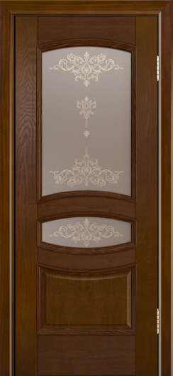 Дверь Лайндор Алина М тон 30 стекло Шарм бронза