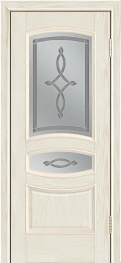 Дверь Лайндор Алина М тон 34 стекло Неаполь светлое