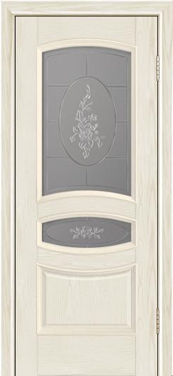Дверь Лайндор Алина М тон 34 стекло Роза