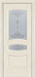 Дверь Лайндор Алина М тон 34 стекло Шарм светлое