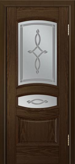 Дверь Лайндор Алина М тон 35 стекло Неаполь светлое