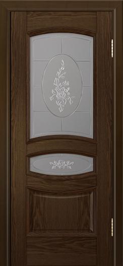 Дверь Лайндор Алина М тон 35 стекло Роза