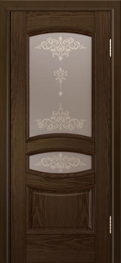 Дверь Лайндор Алина М тон 35 стекло Шарм бронза