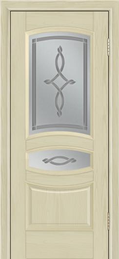 Дверь Лайндор Алина М тон 36 стекло Неаполь светлое