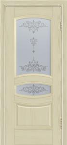 Дверь Лайндор Алина М тон 36 стекло Шарм светлое