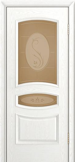 Дверь Лайндор Алина М тон 38 стекло Алина бронза
