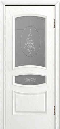 Дверь Лайндор Алина М тон 38 стекло Роза