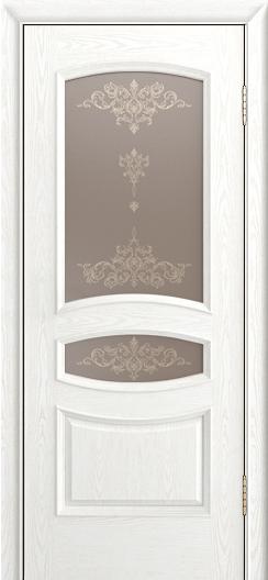 Дверь Лайндор Алина М тон 38 стекло Шарм бронза