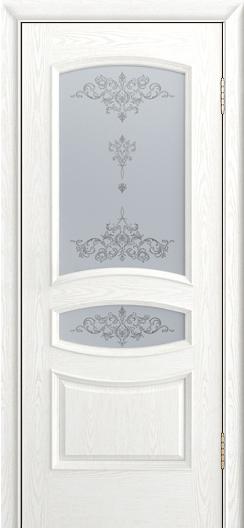 Дверь Лайндор Алина М тон 38 стекло Шарм светлое