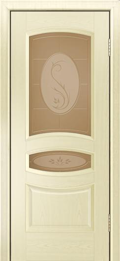 Дверь Лайндор Алина М тон 42 стекло Алина бронза