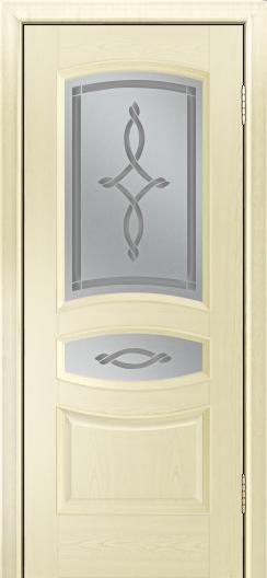Дверь Лайндор Алина М тон 42 стекло Неаполь светлое