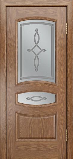 Дверь Лайндор Алина М тон 45 стекло Неаполь светлое
