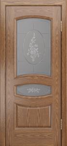 Дверь Лайндор Алина М тон 45 стекло Роза