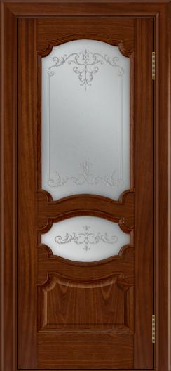 Дверь Лайндор Марта тон 10 стекло Элегия светлое наливка прозрачная
