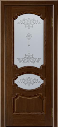 Дверь Лайндор Марта тон 2 стекло Шарм светлое