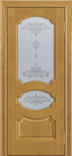 Дверь Лайндор Марта тон 24 стекло Шарм светлое