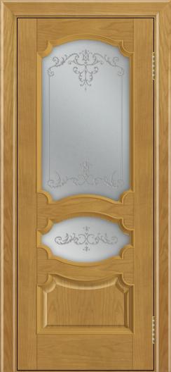 Дверь Лайндор Марта тон 24 стекло Элегия светлое наливка прозрачная