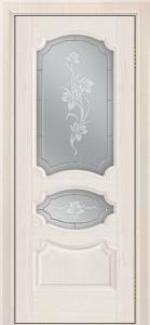 Дверь Лайндор Марта тон 27 стекло Рим