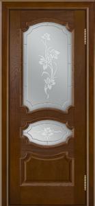 Дверь Лайндор Марта тон 30 стекло Рим