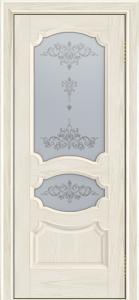 Дверь Лайндор Марта тон 34 стекло Шарм светлое
