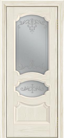 Дверь Лайндор Марта тон 34 стекло Элегия светлое наливка прозрачная