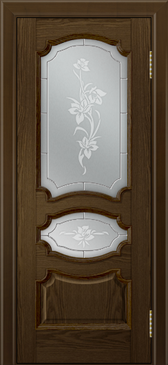 Дверь Лайндор Марта тон 35 стекло Рим