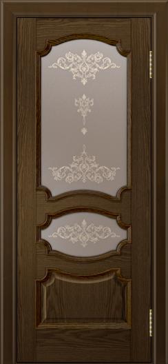 Дверь Лайндор Марта тон 35 стекло Шарм бронза