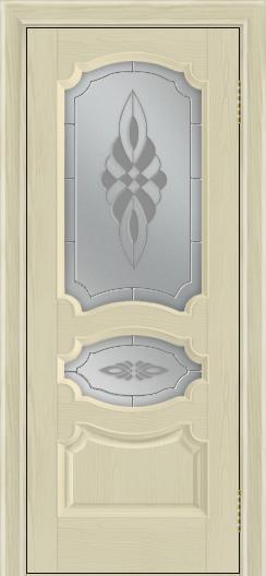 Дверь Лайндор Марта тон 36 стекло Византия