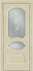 Дверь Лайндор Марта тон 36 стекло Рим