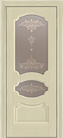 Дверь Лайндор Марта тон 36 стекло Шарм бронза
