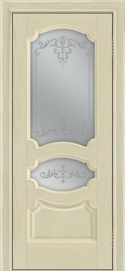 Дверь Лайндор Марта тон 36 стекло Элегия светлое наливка прозрачная