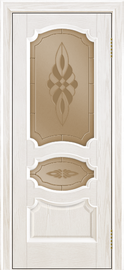 Дверь Лайндор Марта тон 38 стекло Византия бронза