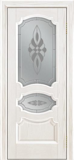 Дверь Лайндор Марта тон 38 стекло Византия