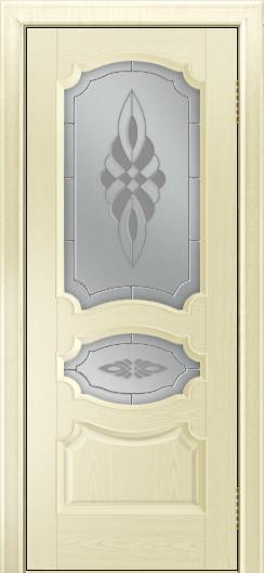 Дверь Лайндор Марта тон 42 стекло Византия