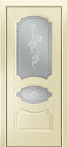 Дверь Лайндор Марта тон 42 стекло Рим