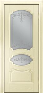 Дверь Лайндор Марта тон 42 стекло Элегия светлое наливка прозрачная