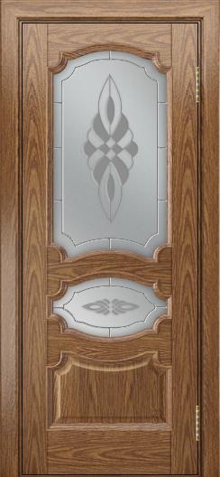 Дверь Лайндор Марта тон 45 стекло Византия