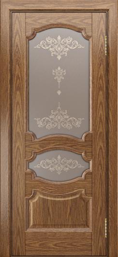 Дверь Лайндор Марта тон 45 стекло Шарм бронза