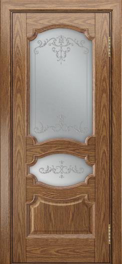 Дверь Лайндор Марта тон 45 стекло Элегия светлое наливка прозрачная