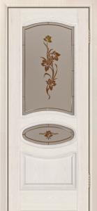Дверь Лайндор Оливия Л тон 27 стекло Рим-СТ
