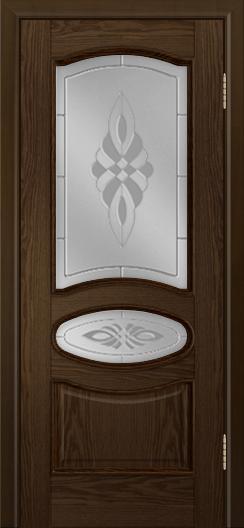 Дверь Лайндор Оливия Л тон 35 стекло Византия