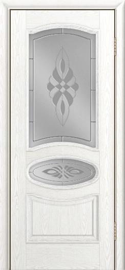 Дверь Лайндор Оливия Л тон 38 стекло Византия